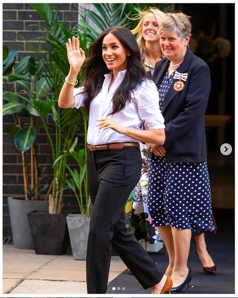 メーガン妃、話し合いに応じることなく…(画像は『The Duke and Duchess of Sussex 2019年9月21日付Instagram「Just over one week ago, The Duchess of Sussex announced the launch of #TheSmartSet, an initiative to support the women of @SmartWorksCharity.」』のスクリーンショット)