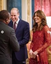 Megxitショックを吹き飛ばす! ウィリアム王子とキャサリン妃がレセプションで初ホストを堂々と務める