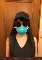【エンタがビタミン♪】太田光代、花粉症対策の愛用マスクが売り切れ 似たようなものでも「値段が数十倍じゃ」
