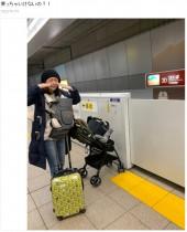 【エンタがビタミン♪】みかん、通勤ラッシュの車内で暴言吐かれる 赤ちゃん連れでのベビーカー&キャリーバッグは無謀なのか