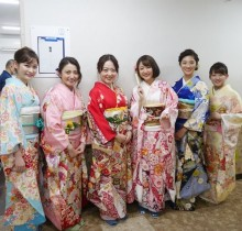 【エンタがビタミン♪】水卜麻美アナに「貫禄を感じる」 日本テレビ女性アナウンサーが振袖姿で勢ぞろい