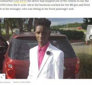 【海外発!Breaking News】BBガンで目を撃たれた17歳少年が死亡(米)