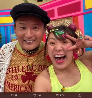 【エンタがビタミン♪】フワちゃん、元貴乃花親方に「あどねー、ボクねー」をやらせて「似てなーい!」