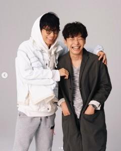 『コウノドリ』以来の共演となる綾野剛と星野源(画像は『Gén Hoshino 星野源 2020年2月13日付Instagram「4月期TBS金曜ドラマ『MIU404』で主演を務めることになりました。」』のスクリーンショット)