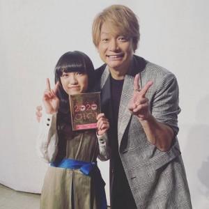 八木優希と香取慎吾(画像は『香取慎吾 2020年2月1日付Instagram「#八木優希 ちゃん」』のスクリーンショット)