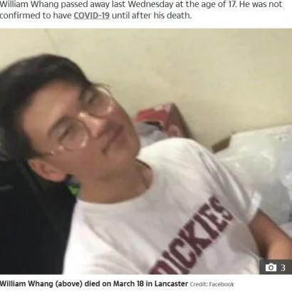 【海外発!Breaking News】新型コロナで死亡した米17歳少年 保険未加入で病院に受け入れ拒否され手遅れに
