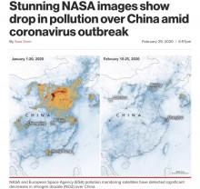 【海外発!Breaking News】「地球の反撃?」新型コロナ拡大後に中国上空の大気汚染濃度が減少