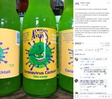【海外発!Breaking News】米老舗飲料会社が「コロナウイルス・カクテル」を販売し物議醸す
