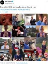 【海外発!Breaking News】「午後8時に拍手を」医療従事者に向けた感謝の拍手が英国内で一斉に鳴り響く<動画あり>