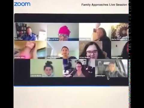 ビデオ会議中にひとりの女性スタッフが…(画像は『TechReviewz 2020年3月21日公開 YouTube「Video Conference Gone Wrong - EPIC FAIL」』のサムネイル)