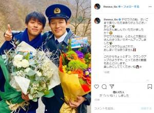 熱演が光った竹内涼真と鈴木亮平(画像は『TBS日曜劇場「テセウスの船」公式 2020年3月23日付Instagram「テセウスの船、さいごまで見ていただきありがとうございました」』のスクリーンショット)