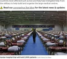 【海外発!Breaking News】世界各国のイベント会場などが次々と医療施設へ 新型コロナ感染者急増で