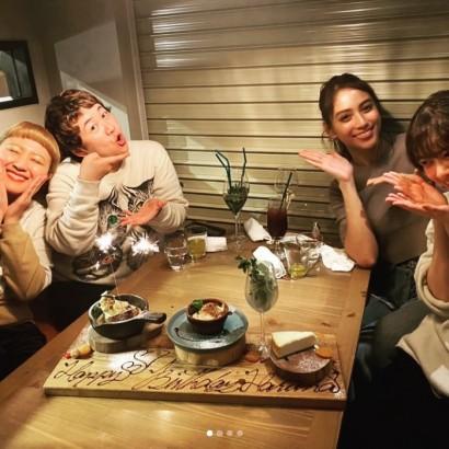 【エンタがビタミン♪】近藤春菜の誕生日会に今年も滝沢カレンら集結 「こうやってご飯とか食べに行きたいー!」羨む声も