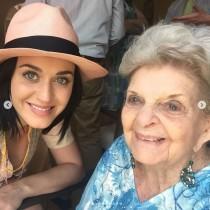 【イタすぎるセレブ達・番外編】ケイティ・ペリーの祖母(99)が他界「私らしさは全て祖母から」