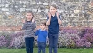 【イタすぎるセレブ達】ウィリアム王子夫妻の子供達3人も医療従事者らに拍手 末っ子ルイ王子の可愛さに再生回数650万回超え<動画あり>