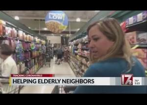 【海外発!Breaking News】「助け合いがウイルスに立ち向かう最善になる!」高齢者のため無償で買い物代行する女性(米)<動画あり>