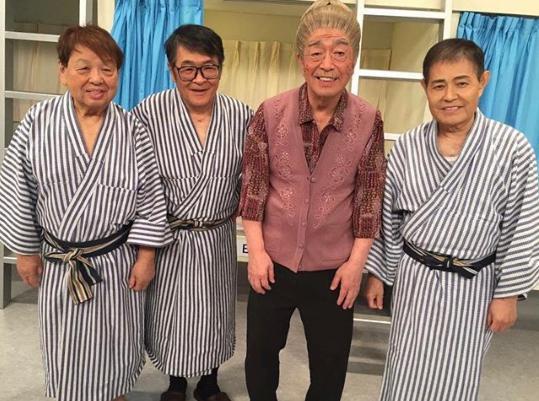 高木ブー「また皆でコントやりたいねぇ」(画像は『Boo Takagi 高木ブー 2019年4月6日付Instagram「また皆でコントやりたいねぇ。」』のスクリーンショット)