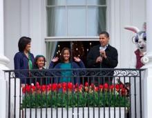 【イタすぎるセレブ達】オバマ元大統領夫妻、懐かしの家族写真とともに復活祭を祝福