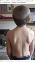「あのオジサンと同じ頭にして!」面白ビデオを見た5歳児、兄にヘアカットを依頼(英)