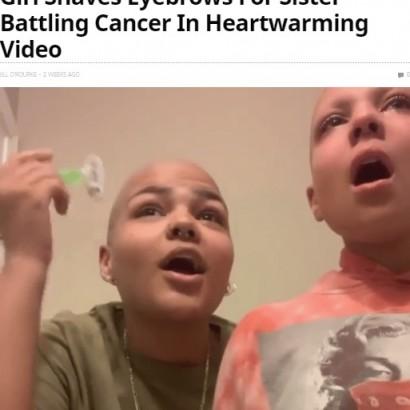 【海外発!Breaking News】ウィル・スミスもシェア がん治療中の妹のため「眉毛なんか必要ない」自分の眉を剃った姉(米)<動画あり>
