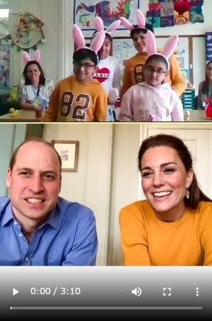 【イタすぎるセレブ達】ウィリアム王子夫妻、医療従事者らの子供達にエール「一生懸命働くお母さん、お父さんを誇りに思って」