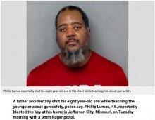 【海外発!Breaking News】「安全な銃の使い方を教えていた」父親が誤って8歳の息子に発砲する(米)