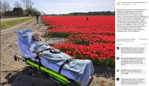 """【海外発!Breaking News】余命僅かな人の""""最期の願い""""叶えるべく奔放する男性「人を助けることが生きがい」(オランダ)"""