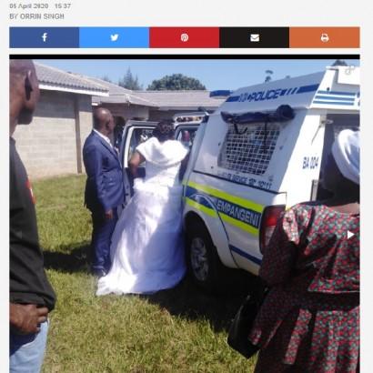 【海外発!Breaking News】ロックダウン中に結婚式を強行 新郎新婦や牧師、出席者ら50名以上逮捕(南ア)