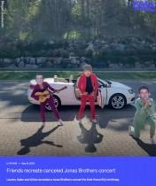 【海外発!Breaking News】ジョナス・ブラザーズのライブがキャンセル、悲しむ女性の為に友人らが爆笑サプライズ(米)<動画あり>