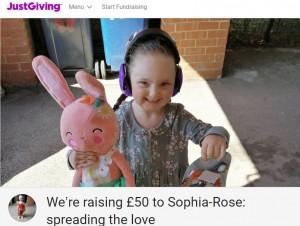 【海外発!Breaking News】自閉症の5歳女児、子供たちやスーパーにギフト1103袋を届ける「みんな笑顔になるから」(英)