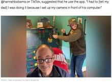 【海外発!Breaking News】オンライン講義中の大学教授、背後にイタズラ好きの息子が現れ予想外の反撃に(米)<動画あり>