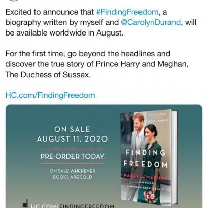 【イタすぎるセレブ達】ヘンリー王子・メーガン妃の伝記本、8月に出版へ タイトルは「自由を探して」