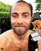 """【イタすぎるセレブ達】キャサリン妃の弟ジェームズさん、婚約者に""""素顔""""を初披露 7年ぶりの髭剃りで一番心配したのは…"""