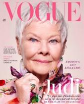 【イタすぎるセレブ達】『VOGUE』史上最年長! 85歳で表紙を飾った女優ジュディ・デンチ 「ディナーパーティーで誰を誘う?」にお茶目な回答