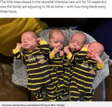 世界で72例、一卵性4つ子が誕生「そっくりすぎて誰が誰だか…」と母親(米)