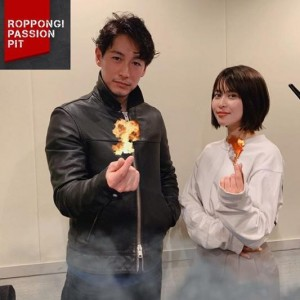 『ROPPONGI PASSION PIT』でナビゲーターを務めるディーン・フジオカと三原勇希(画像は『.deanfujioka 2020年4月5日付Instagram「ROPPONGI PASSION PIT」』のスクリーンショット)