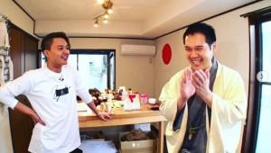 花田優一と神田伯山(画像は『花田優一 Yuichi Hanada 2020年3月14日付Instagram「伯山カレンの反省だ!」』のスクリーンショット)