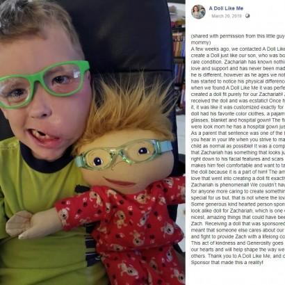 【海外発!Breaking News】「障がいがあってもあなたはそのままで美しい」 世界に1つしかない人形を作る女性(米)<動画あり>