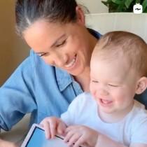 メーガン妃と読み聞かせ動画に登場 1歳になったアーチーくん、やんちゃぶりも発揮