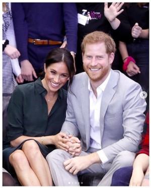 【イタすぎるセレブ達】ヘンリー王子・メーガン妃夫妻がLAでボランティア活動 ヘアネット着用で食事作り