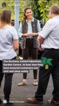 【イタすぎるセレブ達】ウィリアム王子&キャサリン妃夫妻、対面公務再開でロックダウン緩和後の地元ビジネスを盛り上げる
