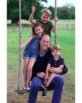 【イタすぎるセレブ達】ウィリアム王子が38歳に、キャサリン妃撮影の親子写真が「幸せそのもの!」「シャーロット王女の貫禄がすごい!」