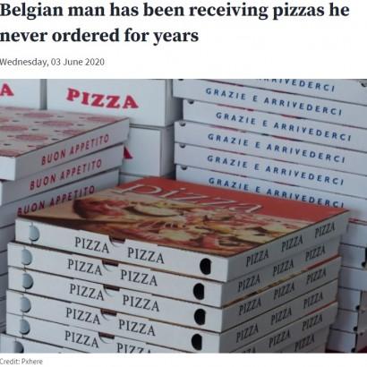 【海外発!Breaking News】9年間、注文していないピザが何度も家に届く 1日に10件、夜中2時の配達も(ベルギー)