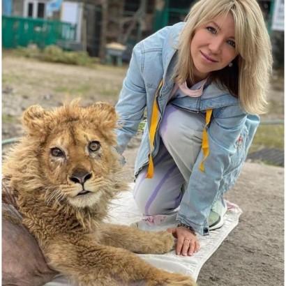 【海外発!Breaking News】観光客との記念撮影のため脚を折られたライオンの子供、今は歩けるように 怒りのプーチン大統領が捜査命令(露)<動画あり>