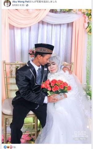【海外発!Breaking News】65歳の女性、養子にした24歳男性からプロポーズを受けて結婚(インドネシア)