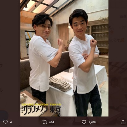 【エンタがビタミン♪】三浦知良・長男りょう太が芸能事務所入り 父親譲りのルックスで『グランメゾン東京』出演も