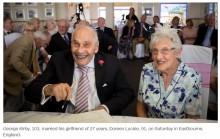 【海外発!Breaking News】「高齢者住宅で恋した」100歳&102歳が結婚 「燃え上がるようなパートナーが欲しい」83歳女性も