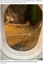 【海外発!Breaking News】失恋した泥酔女が機内で大暴れ 窓にヒビで緊急着陸(中国)<動画あり>