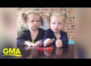【海外発!Breaking News】フルーツスナックチャレンジに挑戦した双子 思わぬ結果に「残酷な2歳児」の声(米)<動画あり>