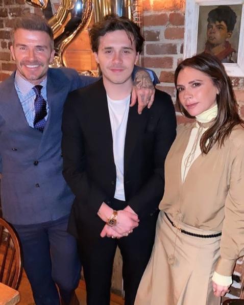 ベッカム夫妻の太っ腹ぶりに驚愕(画像は『Victoria Beckham 2020年3月5日付Instagram「Happy Birthday Brooklyn x We are so proud and love you so so much xxxx kisses」』のスクリーンショット)
